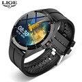 LIGE Sports Smart Watch Men smartwatch Women Waterproof Fitness Watch Heart Rate Blood Pressure Monitor Luxury Reloj Inteligente