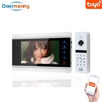 Doornanny Video Intercom For Home Apartment WiFi Wireless Build In Power Doorbell Doorphone System Tuya Smart Doorlock Unlock