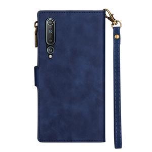Image 3 - Folio Case for Xiaomi Redmi Note 9S PU Leather Zipper Magnetic Closure Wallet Cover Redmi Note 9Pro Redmi Note 8 Pro Mi 10 Pro