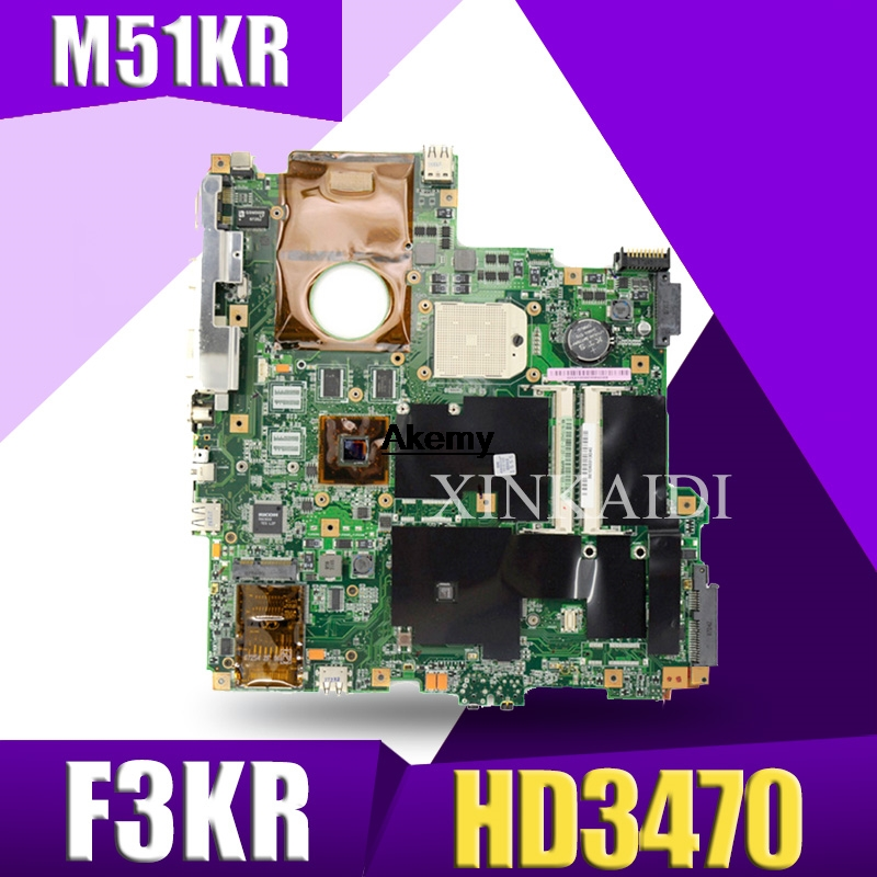 For ASUS M51KR F3KR Laptop Motherboard With HD3470 256M Mainboard 100% Test Good