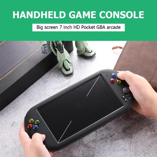 X16 7 inch Color Screen Built-in 8GB/16GB Memory Retro Handheld Game Console Children Gaming Controller Players Birthday Gift 2