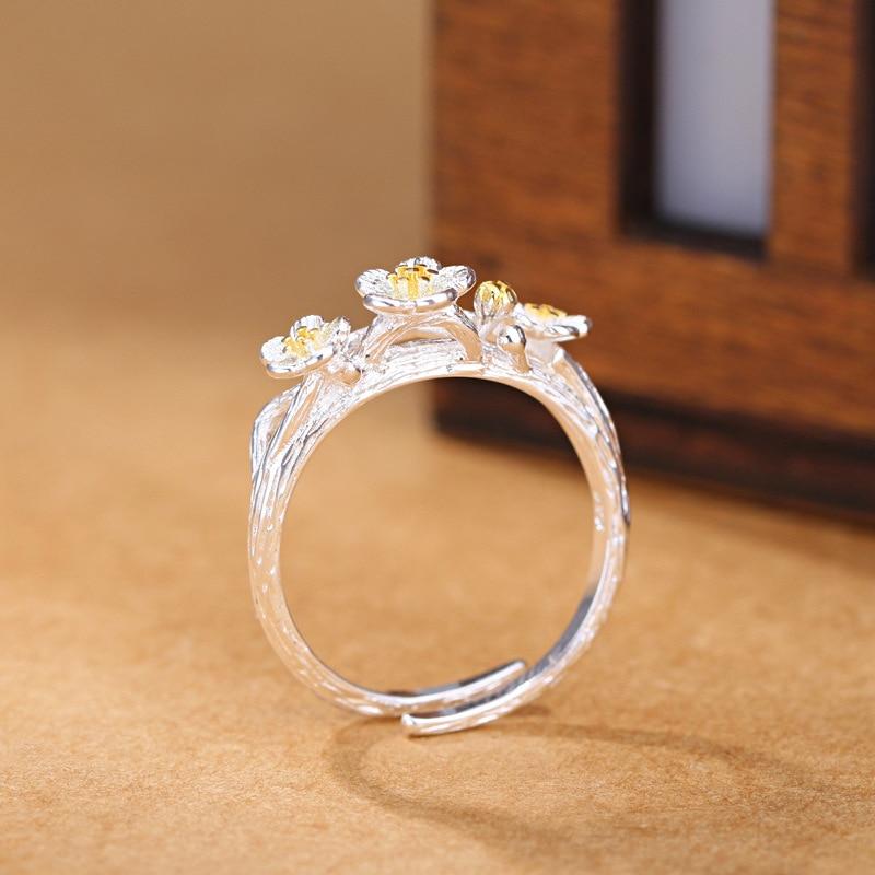 Nuevas llegadas 925 anillos de plata esterlina para mujer joyería de - Joyas - foto 4