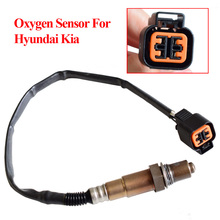 Sensor de oxígeno delantero para coche, Sensor de oxígeno delantero para Hyundai Accent Coupe Elantra Getz i30 Matrix Kia Rio Spectra5