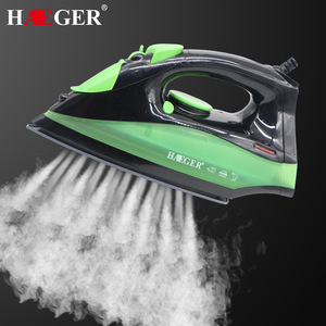 2200W Portable Electric Steam Iron For Clothes High Quality Ceramic soleplate Three Gears