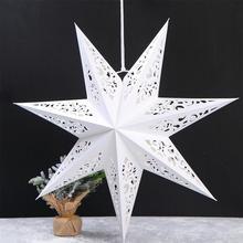 45 см выдалбливают звезда Рождественская елка подвесной вечерние светильник оконные решетки домашней спальни ночной Светильник подвесное ...