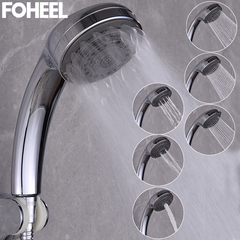 FOHEEL Shower Head Rain Shower Head Hand Shower Multifunction Adjustable High Pressure Shower Head Water Saving Spa Shower Head