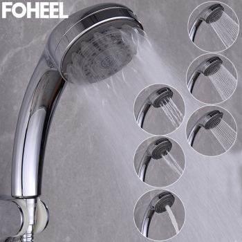 FOHEEL shower head rain hand Multifunction adjustable high pressure water saving spa - discount item  45% OFF Bathroom Fixture