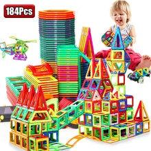 Мини Магнитный дизайнерский Строительный набор модель и строительные игрушки пластиковые магнитные блоки Развивающие игрушки для детей П...