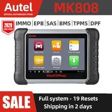 Autel MaxiCOM MK808 araç teşhis aracı tüm sistem OBD teşhis aracı otomotiv tarayıcı otomatik kod okuyucu tarama araçları orijinal
