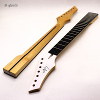 7 string guitar neck with middle line 24F frets
