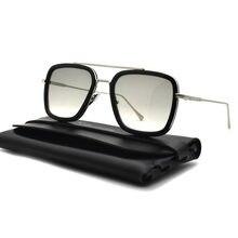 Железный человек Тони Старк солнцезащитные очки Для мужчин трендовые