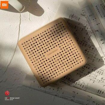 Xiaomi belaDESIGN Retro Wood Bluetooth Speaker Portable Mijia Outdoor Wireless Mini Computer Sound Box Support AUX TF Card Voice 1