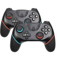 Gamepad inalámbrico Bluetooth para Nintendo Switch Pro NS-Switch Pro controlador joystick de juego para consola de interruptores con mango de 6 ejes