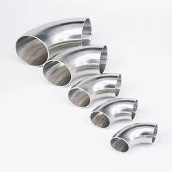 O/D 12.7/16/19/22/25/28/32/34/38/45/51-219mm 304 Stainless Steel Elbow Sanitary Welding 90 Degree Pipe Fittings