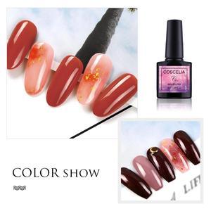 Image 4 - COSCELIA 6/8/10 Colors Gel Nail Polish For Nails Polish UV Gel Nail Set Kit For Nail Art Varnish Gel Set