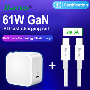 Image 2 - Llano Qc Pd Charger 61W QC4.0 QC3.0 Usb Type C Fast Charger Voor Iphone 11 X Xs Xiaomi Telefoon quick Charge 4.0 3.0 Gan Pd Charger