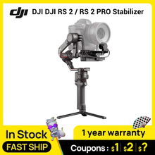 In Stock DJI DJI RS 2 / RS 2 PRO COMBO 3 Axis Gimbal Stabilizer for DSLR and Mirrorless Camera, Nikon Sony Panasonic Canon Fujif