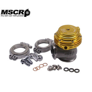 Image 3 - Compuerta de residuos externos MVS, 38mm, acero superior de aluminio, banda en V, colector Turbo de supercarga, 14PSI