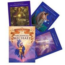 Cartes de Tarot de l'oracle pour jeux de société, 44 pièces, pour archange michelle, cartes de jeu de fête avec guide PDF