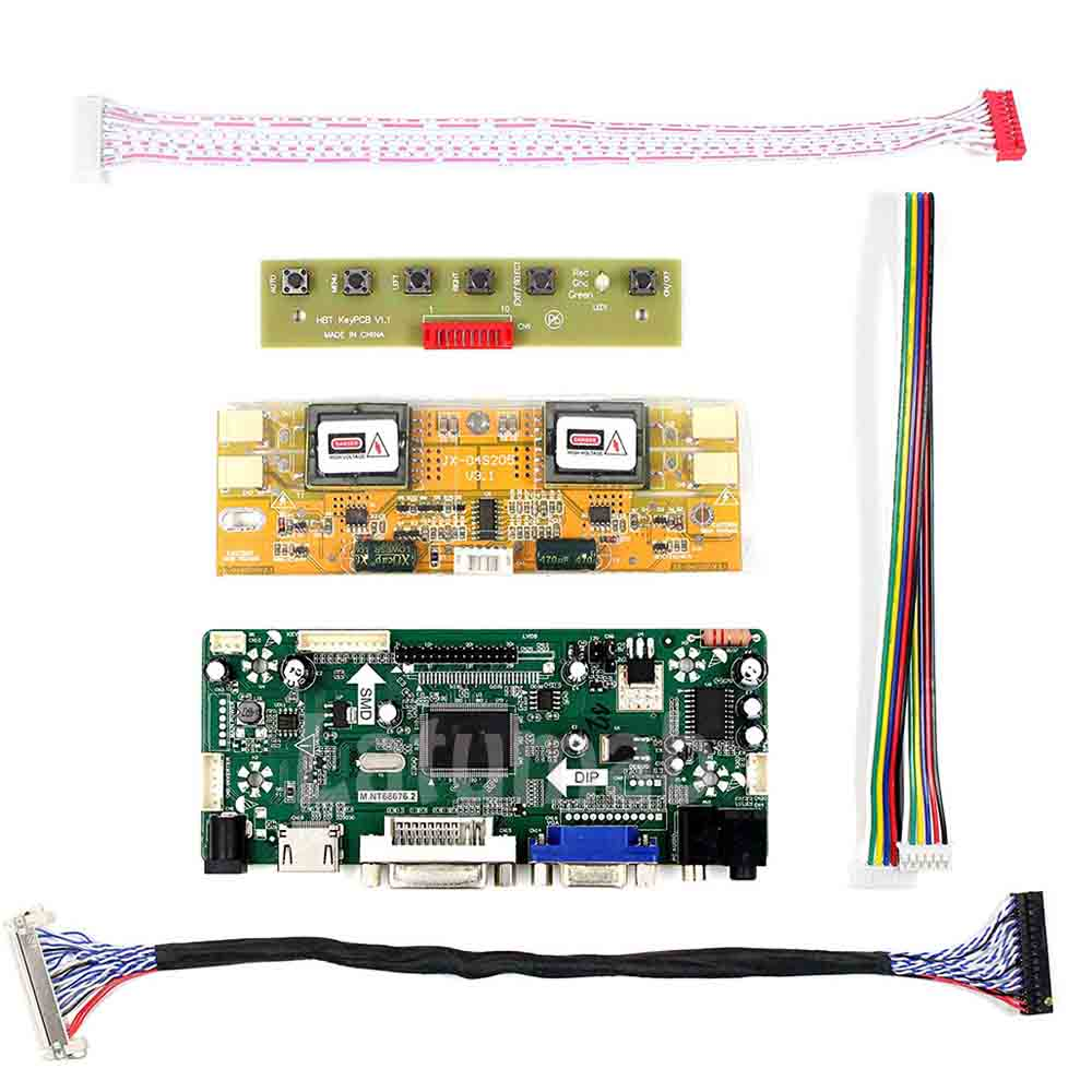LCD Converter Board Driver Inverter Kit for 1920X1080 M216H1-L01 HDMI+DVI+VGA