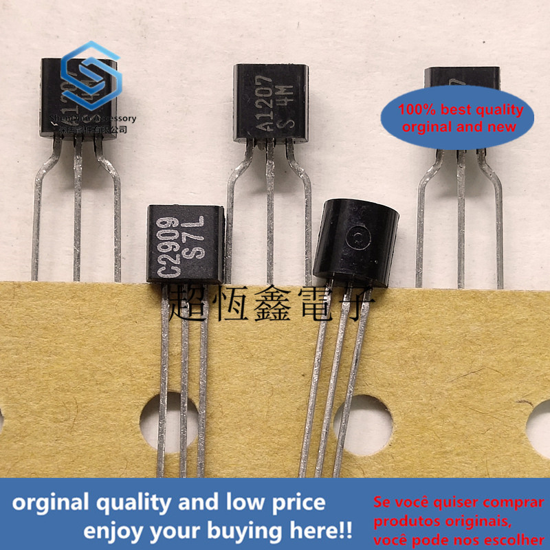 10pcs 100% Orginal New Best Qualtiy 2SA1207 2SC2909 A1207/C2909 Real Photo