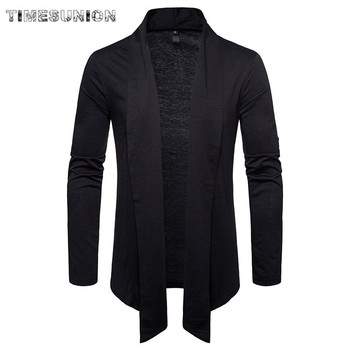 Cardigan Men Sweater New Spring Autumn Fashion Black Cardigan Coats Mens Brand Clothing Male Casual Knitwear for Men new men s sweaters autumn winter warm pullover thick cardigan coats mens brand clothing male casual knitwear sa582