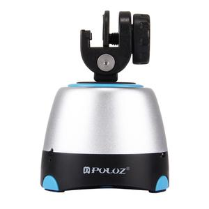 Image 2 - PULUZ 360 ° Rotating Electronic Panoramic Head With Remote Control For Smartphones & GoPro& DSLR Tripod Head Stativkopf Pan Tilt