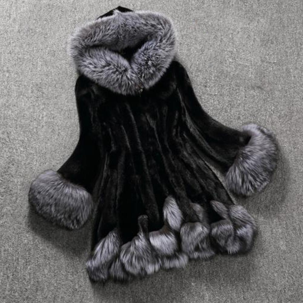 Winter Coat Women Winter Long Coat 2019 Female Hooded Warm Jacket Ladies Loose Plush Coat