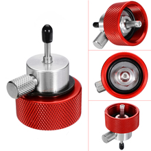 1pc Airsoft Propane Filling Adapter for Green Gas Tank with Silicone Oil Port Red
