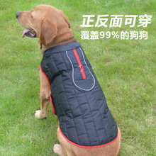 Pet Clothes Autumn And Winter Dog Double-Sided Wea
