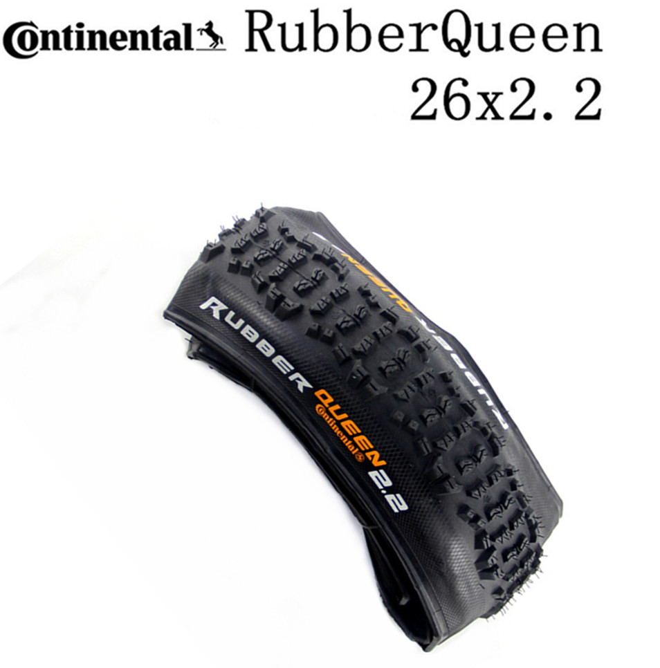 Continental Tyre Rubber Queen foldable Tire Mountain Bike <font><b>26x2.2</b></font> in Tubular Tire MTB bicycle Tyre Black image