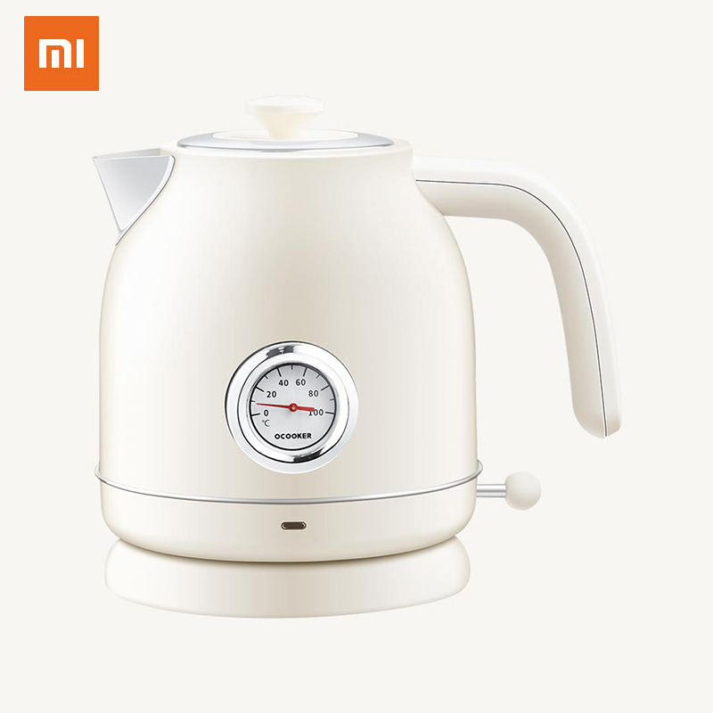 Xiaomi Mijia Ocooker Electric Kettle Import Temperature Control 1.7l Large Capacity With Clock Display For Home