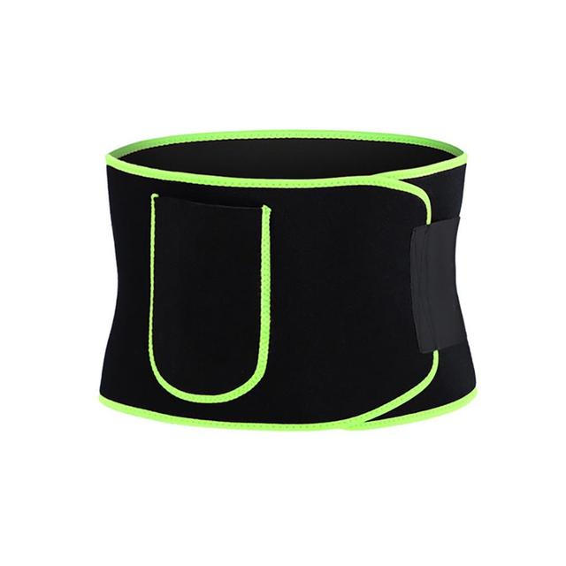 Gym Fitness Sport Shapewear Sweat Belt Waist Trimmer Cincher Back Support Trainer Underwear Body Building 3