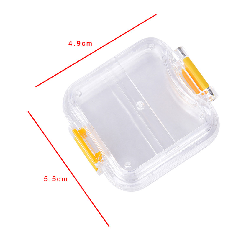Storage Box With Hanging Net Container Artificial Tooth Organizer Transparent Tooth Box Denture Bath Box Case Dental False Teeth 6