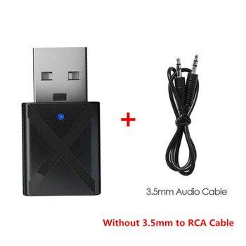 Mini Stereo Bluetooth σε RCA USB 3.5mm Jack για TV PC Car Kit Wireless Adapter MSOW