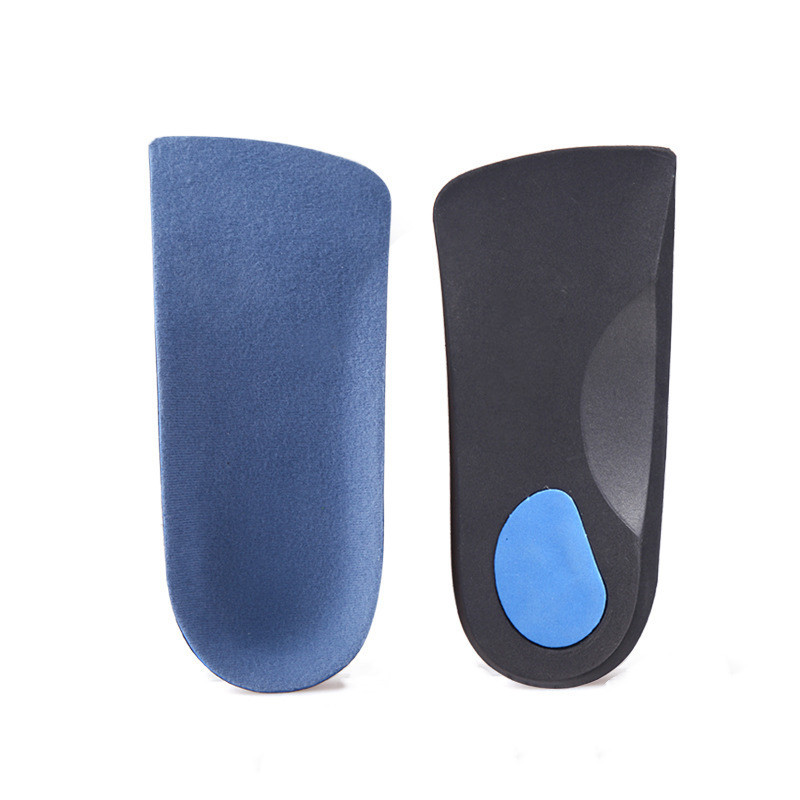 EVA Flat Foot Orthotics Arch Support Half Shoe Pad Insoles Foot Care Unisex Pair