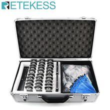 Retekess T130ワイヤレスツアーガイドシステム充電ケース + 2トランスミッタ + 30受信機教会翻訳工場ビジネスミーティング