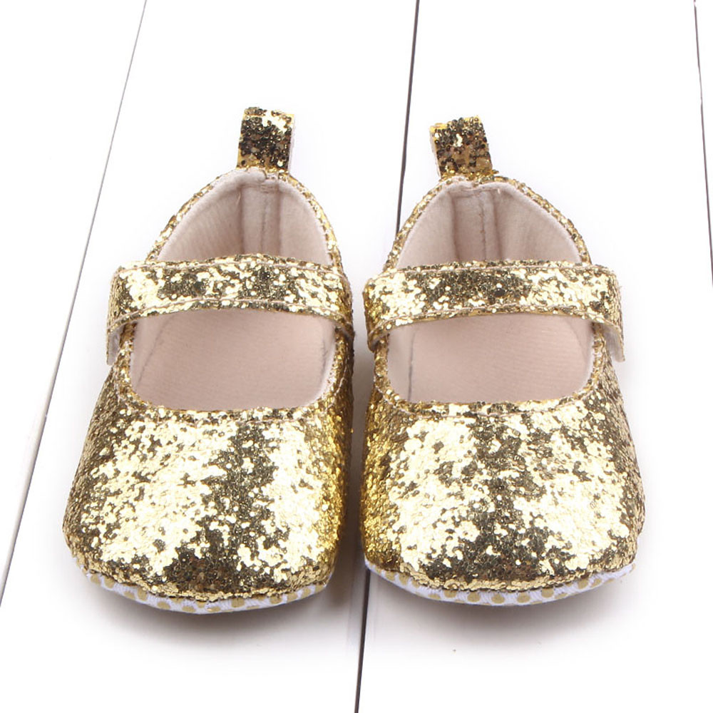 Baby Shoes Summer Baby Crib Soft Cute Shoes Girls Indoor Soft-Soled Princess Shoes Baby Walking Shoes Non-slip Bowknot Footwear