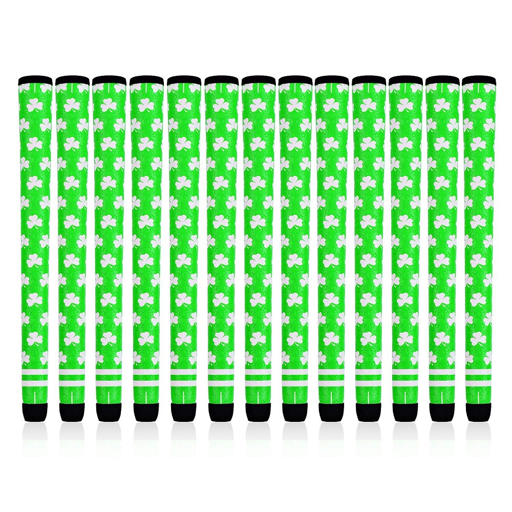 NEW Champkey 10PCS/Set Shamrock Golf Grips For Golf Club Standard And Midsize Club Grips