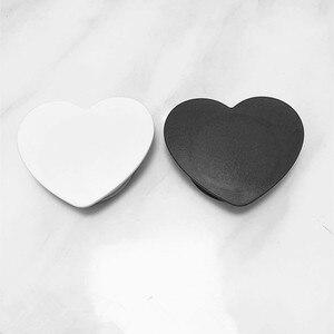 50pcs heart Love shape Blank m