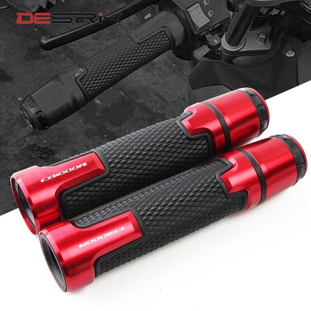 Neue Für CB1000R 2008 2009 2010 2011 2012 2013 2014 7/8 22mm Motorrad Knöpfe Anti Skid Roller Griff bar Lenker Griffe