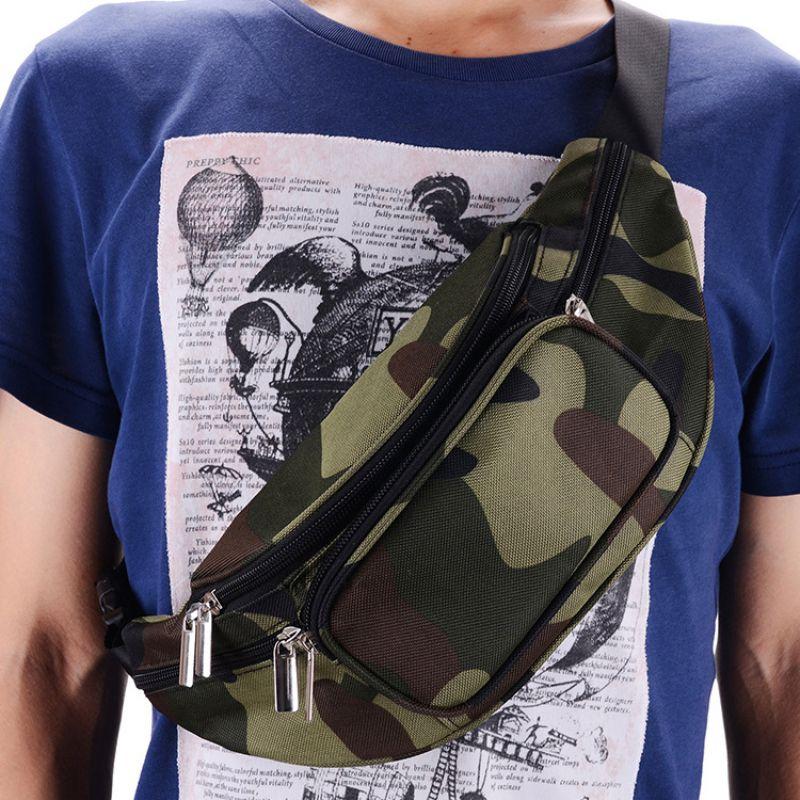 Waist Bag Storage Bags Casual Phone Water Bottle Holder Single Shoulder Messenger Bags Outdoor Running Climbing Cycling Sportswe