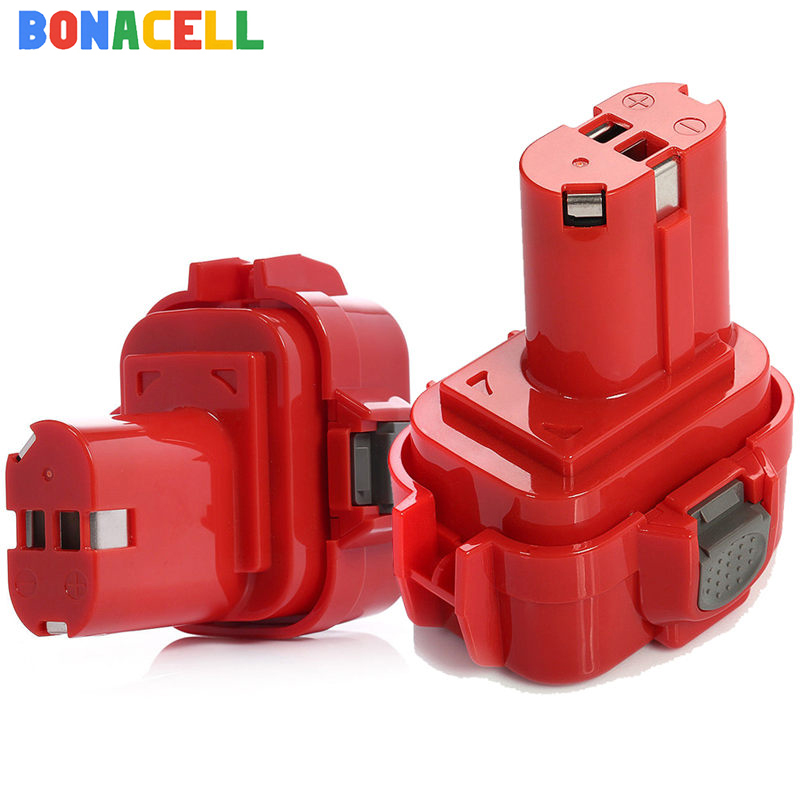 Bonacell 3500mAh <font><b>9.6V</b></font> Ni-MH For <font><b>Makita</b></font> PA09 <font><b>9120</b></font> 9122 6207D 192595-8,192596-6 Rechargeable Power Tool <font><b>Battery</b></font> image