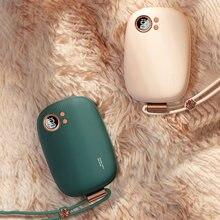 10000mAh Power Bank Mini Elektrische Hand Wärmer USB Aufladbare Winter Heizung Haushalt Outdoor Reise Handlich Erwärmung Werkzeug