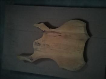 Afanti muzyka DIY gitara zestaw DIY gitara elektryczna ciała (MW-3-566) tanie i dobre opinie none not sure Nauka w domu Do profesjonalnych wykonań Beginner Unisex CN (pochodzenie) Drewno z Brazylii Electric guitar