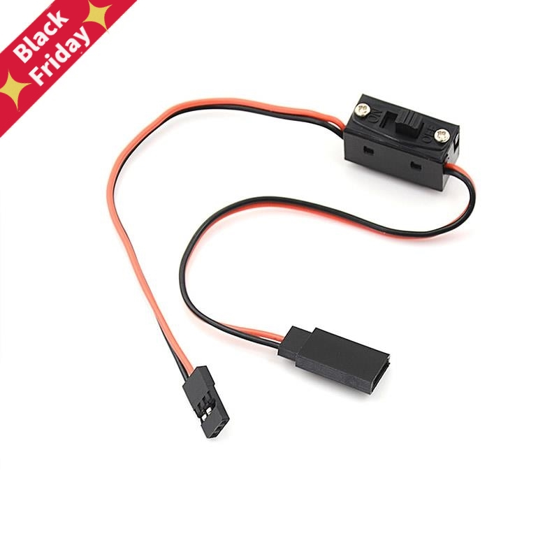 1pcs * Control Receiver Power Switch RC Switch Receiver Battery On/Off With JR Lead Connectors