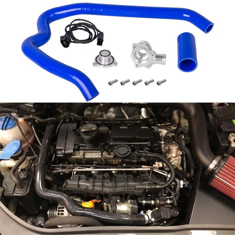 Auto turbo dump blow off diverter valve suit conversion for audi S3 vw Golf R 2 0 TFSI transversal ETI VAG group engines