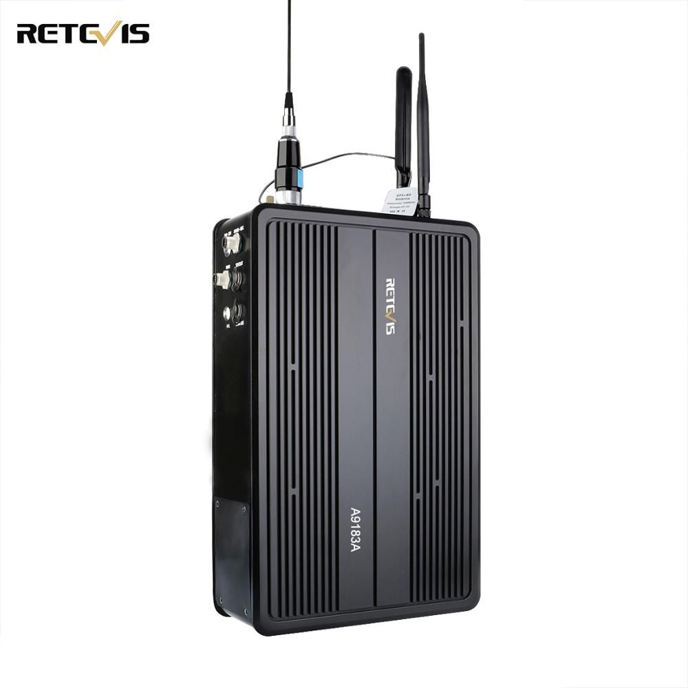 Retevis RT93 Mobile Piggyback Digital Private Network Base Station For DMR Digital/analog Walkie Talkie 1024 Channels A9183A