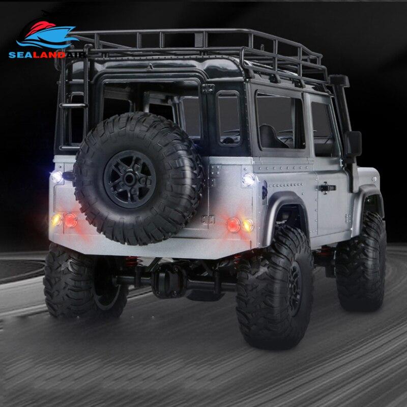 Nuovo MN 99 Versione Aggiornata MN99S D90 4WD RC Auto 1/12 Bilancia Defender Elettrico di Controllo Remoto Auto Giocattolo Per Bambino regalo Con Luci A LED - 4