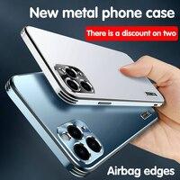 Nuovo lusso di alta qualità per iPhone 12 custodia per telefono. iPhone 11 Pro MAX tutti i pacchetti custodia morbida semplice protettiva ultra sottile anticaduta